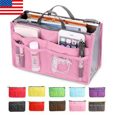 Travel Cosmetic Bag Pen Pencil Case Organizer Zipper Makeup Bag Storage Handbag