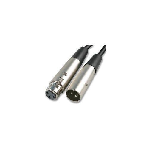 Cable-Tex XLR FEMALE TO MALE LEAD microphone patch 5m