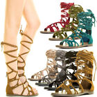 Flat (0 to 1/2 in.) Gladiator Heels for Women