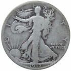 Circulated Philadelphia 1917 Year Liberty Walking Half Dollars (1916-1947)
