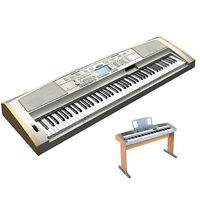 YAMAHA DGX-500 Portable Grand Piano with Wooden Bench