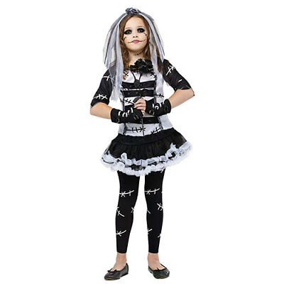 Monster Bride Girls Cute Horror Halloween Costume](Cute Horror Halloween Costumes)