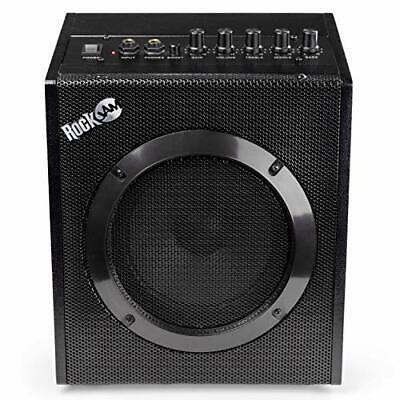 RockJam 20 Watt Electric Guitar Amplifier with Headphone Output, Three-Band EQ,