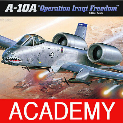 1/72 A-10A OPREATION IRAQI FREEDOM #12402 ACADEMY MODEL KIT