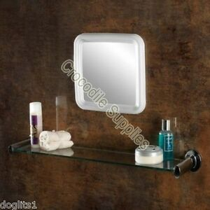 stick on bathroom mirrors stick on up bathroom bath shower sink shave make 20676