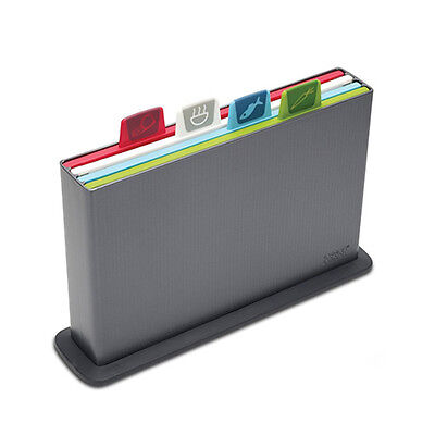 Joseph Joseph Index Non-Slip Chopping Board Set Graphite