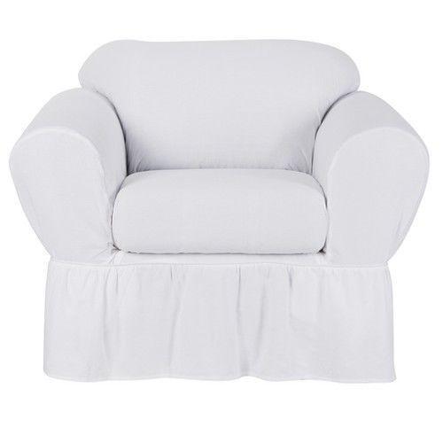 Shabby Chic Chair Slipcover Ebay