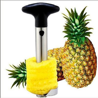 Edelstahl Ananasschneider Ananas Entkerner Schäler Ananasteiler