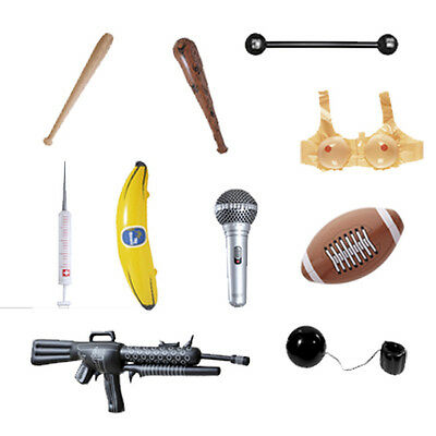 NOVELTY INFLATABLE ACCESSORIES BLOW UP PARTY POOL FANCY DRESS FLOAT INSTRUMENTS