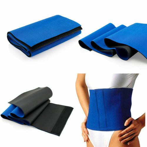 Waist Trimmer Belt Sweat Band Wrap Ab Stomach Weight Loss Fat Burner Slimming Health & Beauty