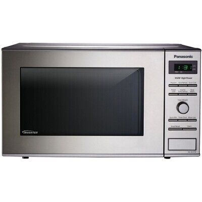 Panasonic 0.8 Cu Ft Microwave Oven Stainless - NN-SD372S