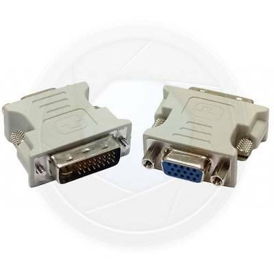 For PC HDTV DVI-I 29pin Male to VGA 15pin Female Converter Video Card (Dvi Hdtv Video Card)