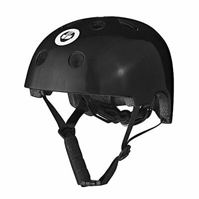 Gotrax Multi-Sport Skateboard Scooter and Bike Helmet (Black, Small)