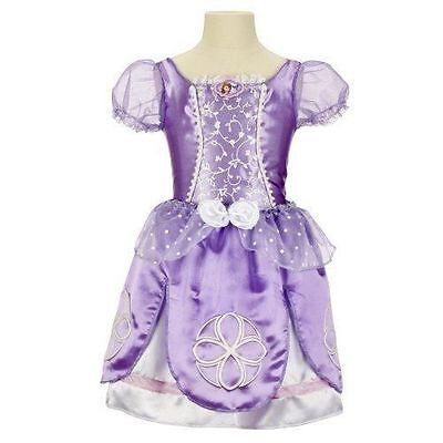 Girl Transformer Costume (NWT Disney Sofia the First Transforming Dress Ballgown Ballerina Girls Size)