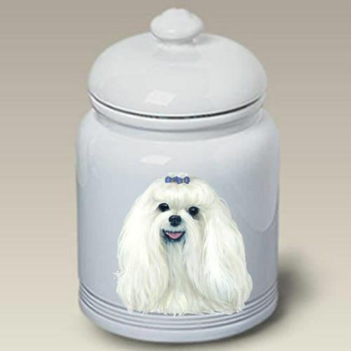 Maltese Ceramic Treat Jar LP 45041