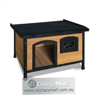 Pitch Rooftop Elevated Flooring Pet Dog Kennel