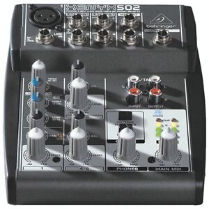 Behringer 502 Xenyx Premium 5-Input 2-Bus Mixer-NEW IN BOX