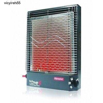 LP Gas Catalytic Space Exultant Heater Adjustable Compact RV Bothy Nursing home Ventless