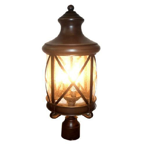 lamp post light fixture ebay. Black Bedroom Furniture Sets. Home Design Ideas