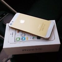 iPhone 5s 64 gb White and gold