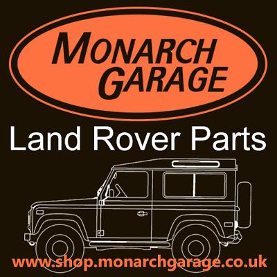 Land Rover Parts Monarch Garage