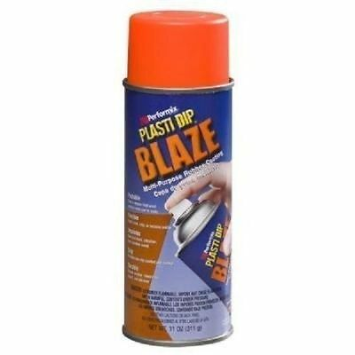 New 11218-6 Blaze Orange 11oz Plasti Dip Rubber Handle Spray Coating Works