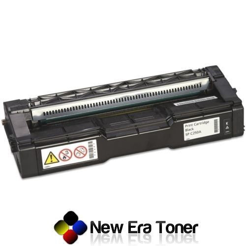 Black Toner Cartridge for Ricoh Aficio SP C250SF, SP C250DN, SP C261SFNw