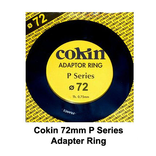 Cokin P Series 72mm Adapter Ring - NEW UK STOCK