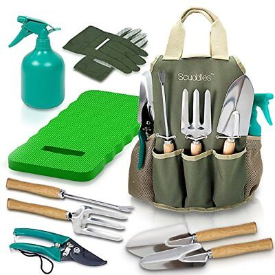 (Garden Tool Set Gardening Bag Accessories KIt Kneeling Pad Digging Tools)