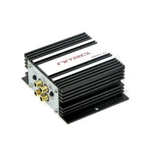Mini Car Amplifier  Channel Ebay