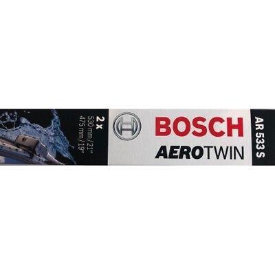 BOSCH Wischblatt Aerotwin Retrofit AR533S Scheibenwischer 530/475 mm 3397118902 (Power Station Für Elektronik)