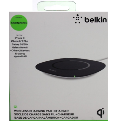 Belkin Qi Wireless Charging Pad - 5 V DC Output - Input conn