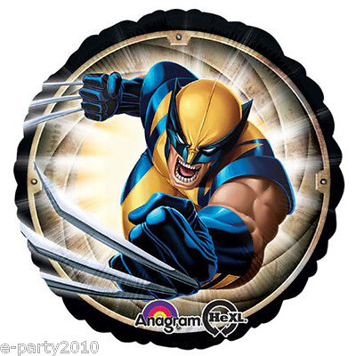 N FOIL MYLAR BALLOON ~ Birthday Party Supplies Decorations (Wolverine Party Supplies)