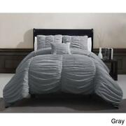 Pleated Comforter