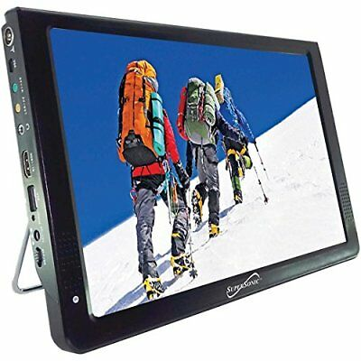 "Supersonic 12"" Portable Ultra Lightweight Widescreen LED TV"
