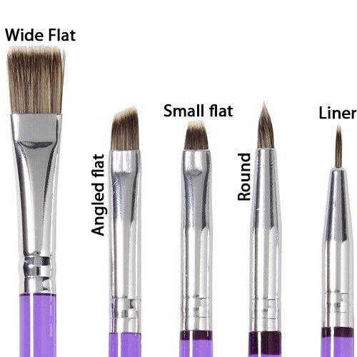 Decorating Brush 5pc Set-
