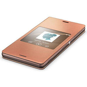 SONY-Style-Cover-SCR24-for-Xperia-Z3-smart-window-function West Island Greater Montréal image 2