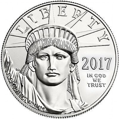 2017 1 oz American Platinum Eagle Coin (BU)