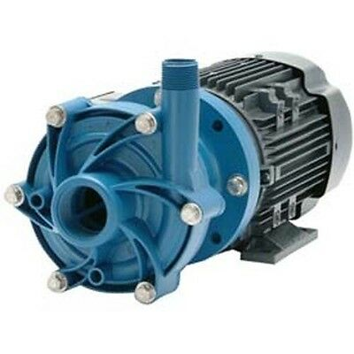 Chemical Pump- Poly - 12 Hp - 115 208-230v - 1 Ph - 42 Gpm - Magnetic Drive