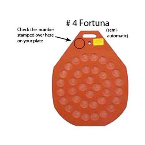 Divider-Rounder Plate # 4 Fortuna, Semi-Automatic