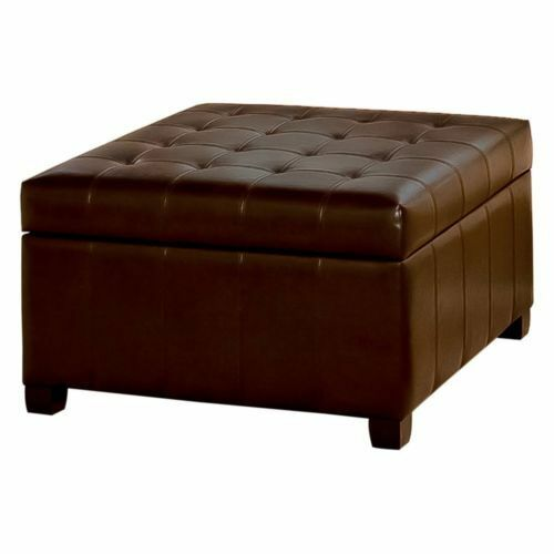 Upholstered Round Footrests Brown icon Shetland Drum Pouffe Cylindrical Footstool