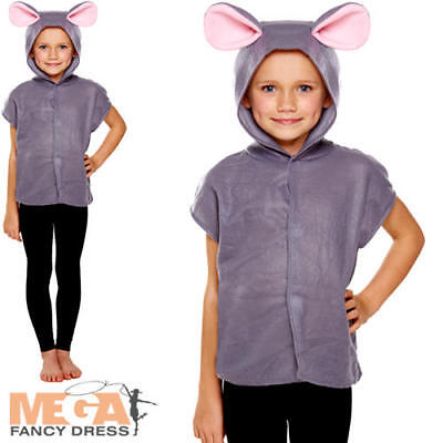 Woodland Animal Costumes (Mouse Girls Fancy Dress Woodland Animal Story Book Day Childrens Kid Costume)