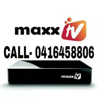 MAXX TV / REAL TV/  hd for indian channels