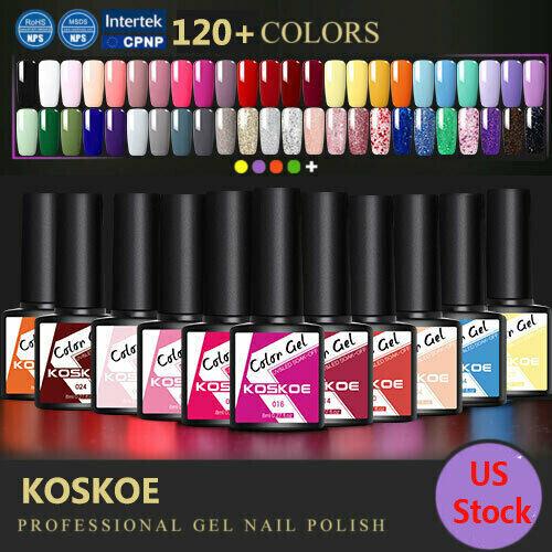 KOSKOE UV LED Soak Off Gel Nail Polish Art Salon Professional 8ml Nail Varnish