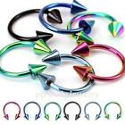 Spike Horseshoe Earrings
