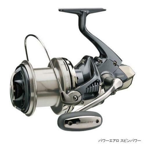 Shimano power aero spinning reels ebay for Ebay fishing reels shimano
