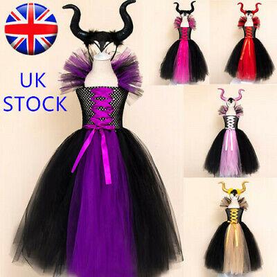 Maleficent Fancy Dress Devil Costume Deluxe Evil Queen - Halloween Kostüme Maleficent'