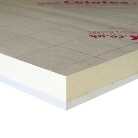 Celotex Thermal Insulation (foil backed) with plasterboard
