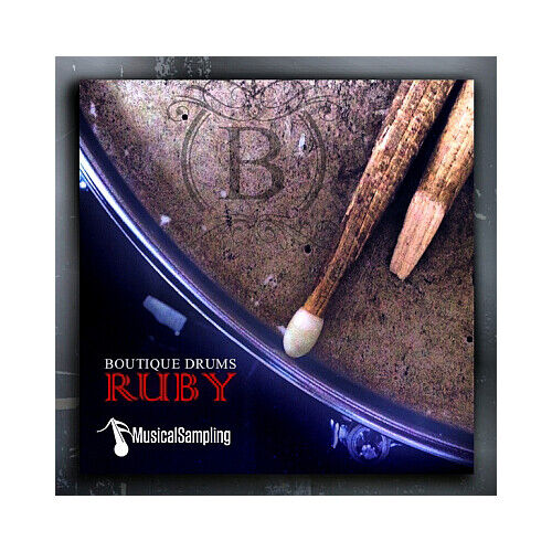 Musical Sampling Boutique Drums Ruby