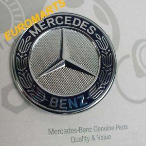 Genuine Mercedes Emblem Logo Hood Vito Unimog Bm405 Bm408